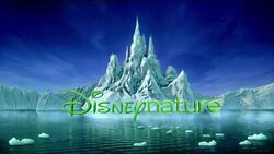 Disneynature iceberg castle