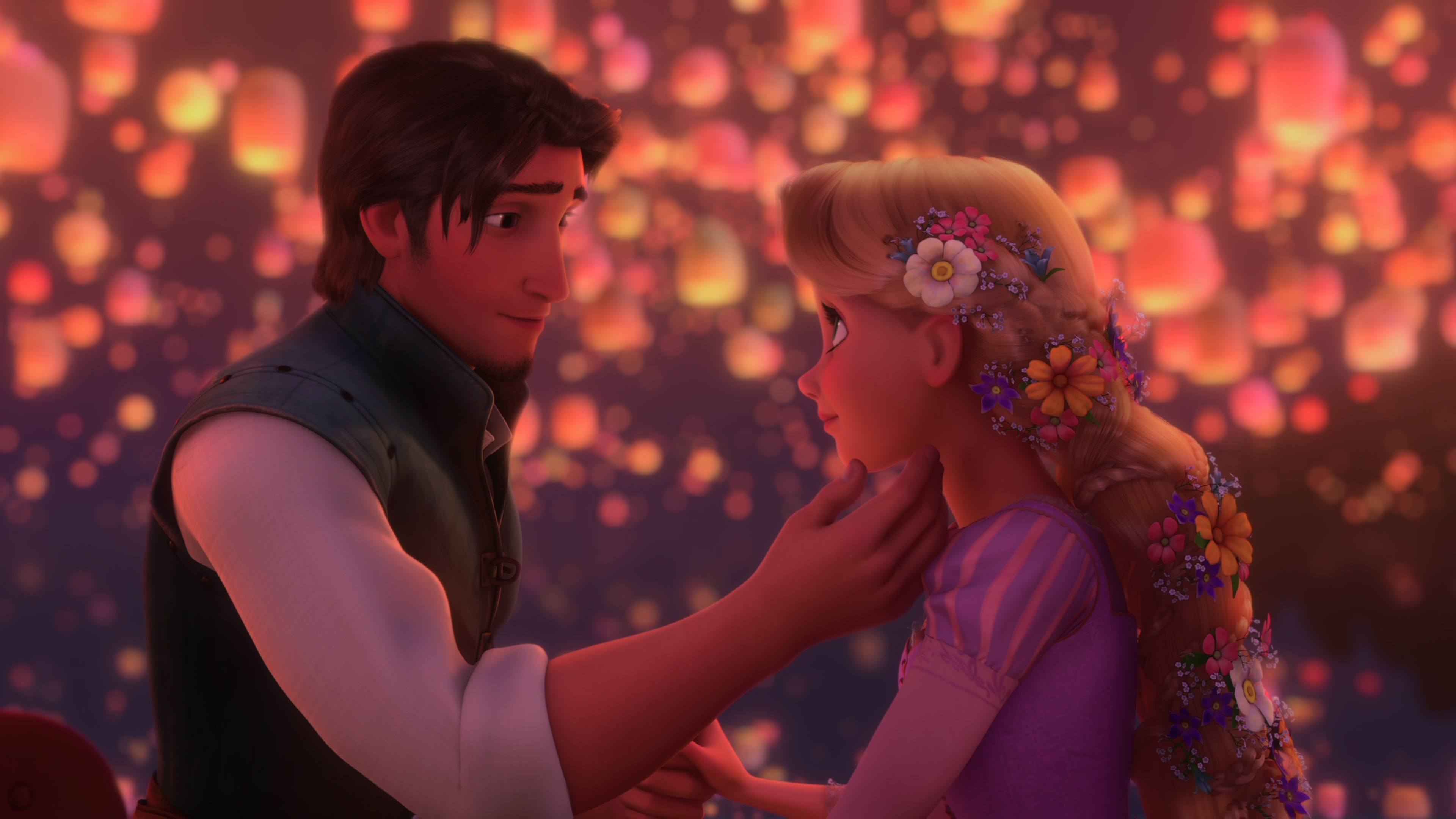 28 Great Tangled Rapunzel And Flynn Love