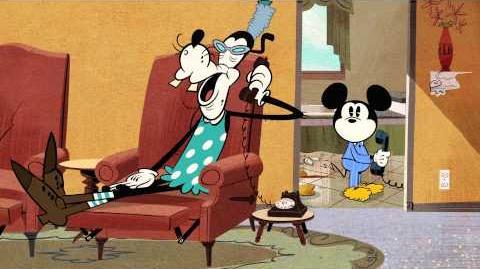 Mickey Mouse Goofy's Oma Disney NL