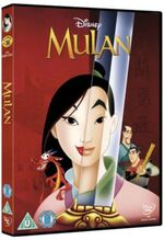 Mulan 2012 UK DVD
