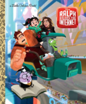 Ralph breaks the internet golden book