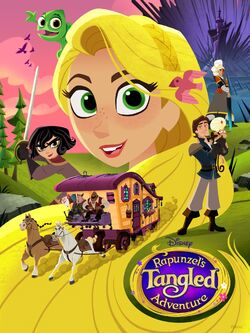 Tangled the series S2 Poster