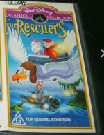 The Rescuers 2001 AUS VHS First