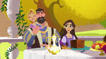 The Way of the Willow - Rapunzel, King Frederic and Queen Arianna
