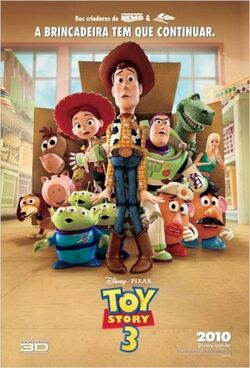 Toy Story 3 - Pôster Nacional