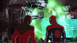 Ultimate Spider-Man - 4x06 - Double Agent Venom - Scarlet Spider and Spider-Man