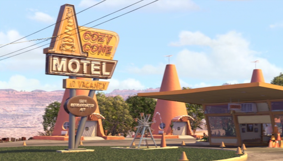 Image result for cozy cone motel