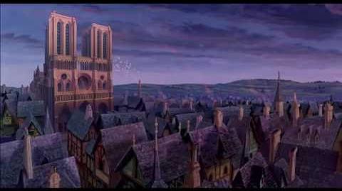 De Klokkenluider van de Notre Dame Liedje Daarbuiten Disney NL
