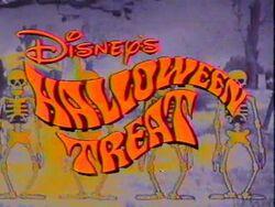 DisneyHalloween treat