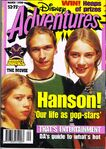 Disney Adventures Magazine Australia march 1998 hanson