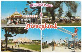 Holidayland Postcard