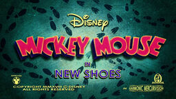 Mickey Mouse 2013 New Shoes Title card