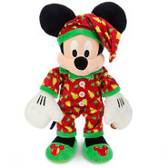Mickey Mouse Holiday Pajamas Plush