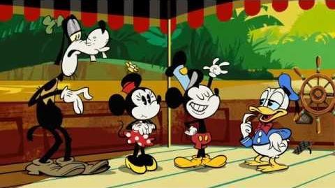 Mickey Mouse Na-apen Disney NL