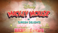 Mickey Mouse Turkish Delights title card