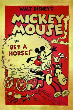 Mickey getahorsePoster