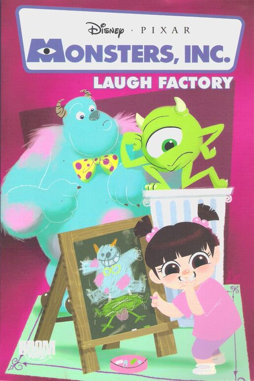 Monsters, Inc : Laugh Factory   Disney Wiki   FANDOM powered by Wikia