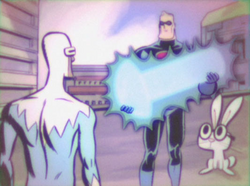Mr incredible and pals