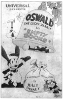Oswald the Lucky Rabbit Empty Socks poster