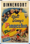 Pinocchio dutch poster