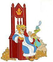 Prince John & Sir Hiss pin