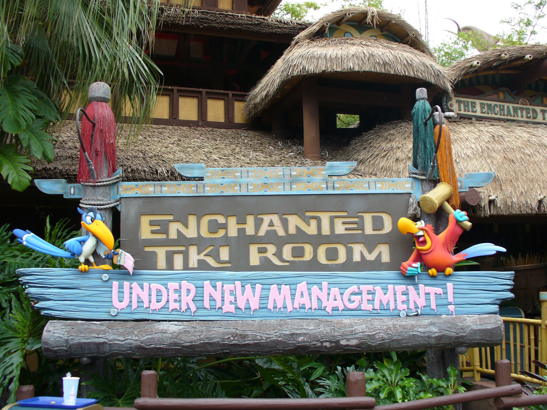 The Enchanted Tiki Room (Under New Management) | Disney Wiki ...