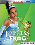 The princess and the frog Blu-ray 2019