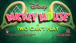 Two Can't Play Title Card
