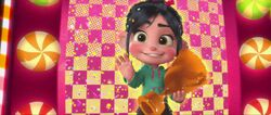 Vanellope Say Hi To Ralph