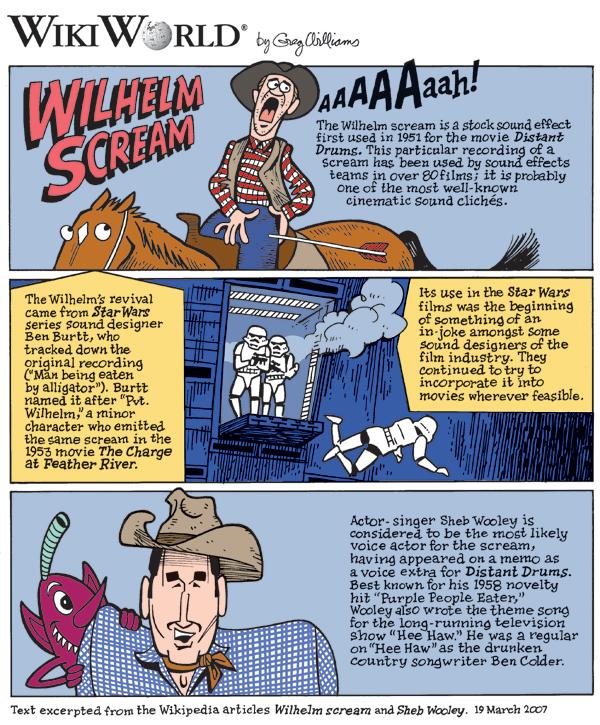 Wilhelm scream | Disney Wiki | FANDOM powered by Wikia
