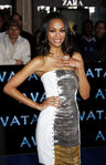 Zoe Saldana Avatar premiere