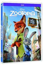 Zootopia DVD Mexico