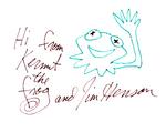 Autograph jim kermit