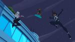Ghost-Spider, Spider-Girl & Hobgoblin in Spider-Man Maximum Venom