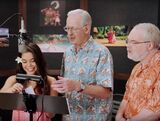 John Musker & Ron Clements supervising Auli'i Cravalho's recording session