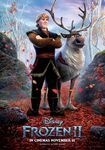 Kristoff and Sven Frozen II Poster