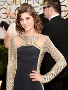 Lizzy Caplan 71st Golden Globes