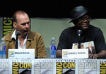 Michael Keaton & Samuel L. Jackson SDCC