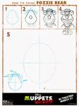 Muppets-Most-Wanted-How-to-Draw-Fozzie-Bear