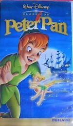 Peter Pan 2002 Brazil VHS