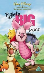 Piglet's big movie uk vhs