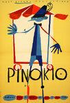 Pinocchio Polish 1962 poster