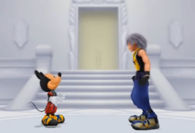 File:Riku's Resolve and the King's Determination 01 KHRECOM.png