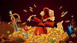 Scrooge in treasure 2017