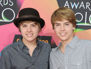 Sprouse twins at Nick KCA