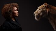 The Lion King (2019) - Alfre Woodard with Sarabi