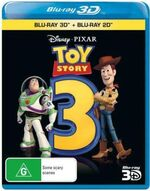 Toy Story 3 2011 AUS Blu Ray 3D