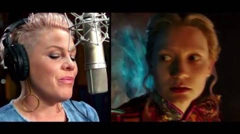 Alice Através do Espelho - Trilha sonora P!nk - 26 de maio nos cinemas