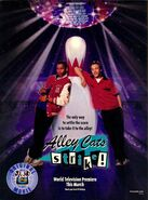 Alley Cats Strike print ad NickMag March 2000