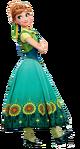 Anna Frozen Fever Render